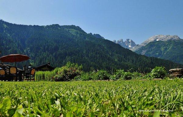 Foto del giardino Falcade