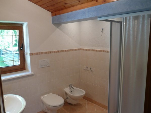 Foto del bagno Appartamenti Borgate tra le Malghe