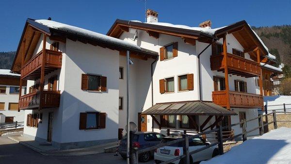 Foto esterno in inverno Villa Elisa