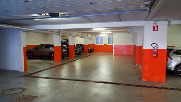 Il parcheggio Appartamenti Villa Elisa