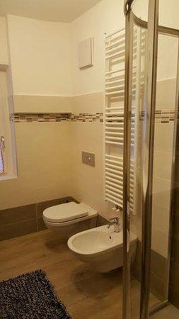 Photo of the bathroom Apartments Scardanzan Loredana
