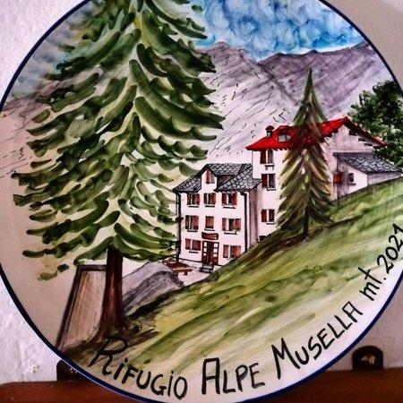 Foto einiger Details  Alpe Musella