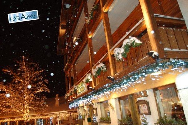 Foto esterno in inverno Natur Garnì Alpino