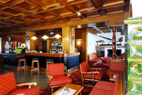 Die Gemeinschaftsräume Hotel Cristallo