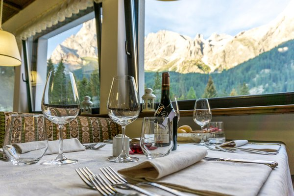 The restaurant San Martino di Castrozza Colfosco