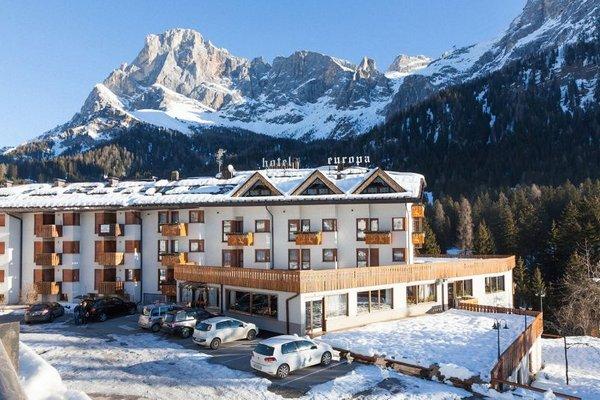 Foto invernale di presentazione Hotel Europa