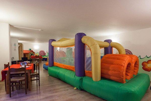 La sala giochi Hotel Europa