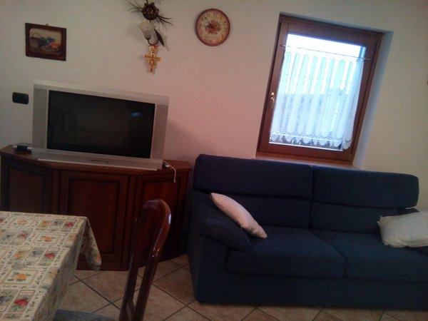 La zona giorno Orler Marisa - Appartamenti 3 genziane