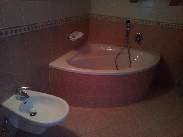 Foto del bagno Appartamenti Orler Marisa