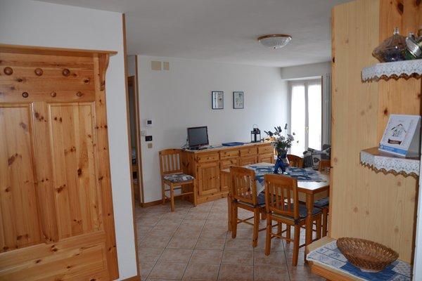 La zona giorno Appartamenti Villa Tisot