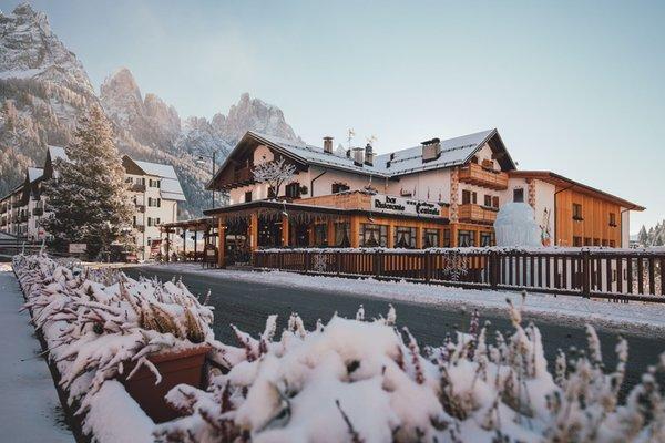 Foto invernale di presentazione Hotel Centrale
