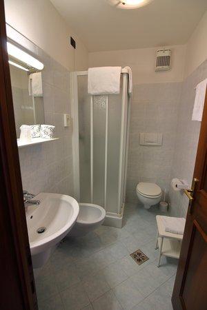 Foto del bagno Hotel Ai Tre Ponti