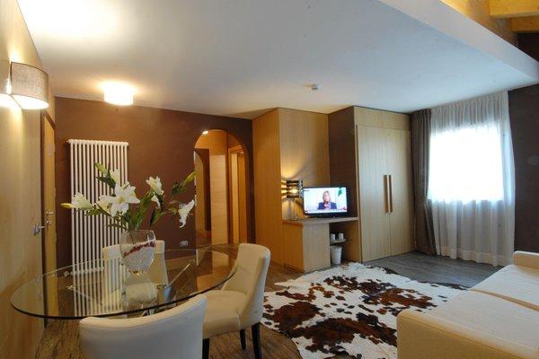 La zona giorno Vittoria - Garni-Hotel 4 stelle