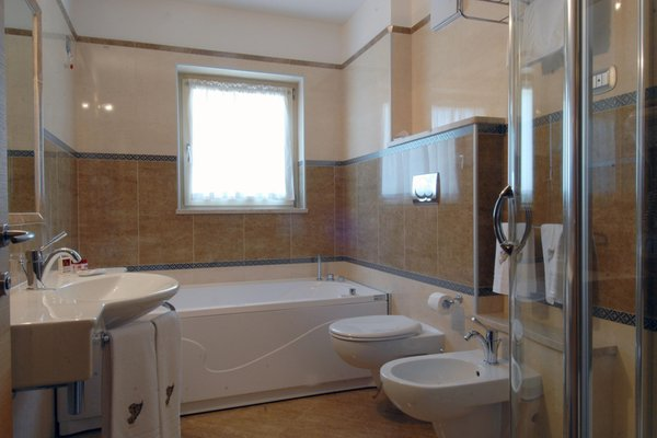 Foto del bagno Garni-Hotel Vittoria