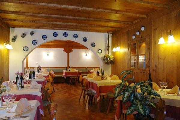 Il ristorante Val Canali (Primiero) Cant del Gal