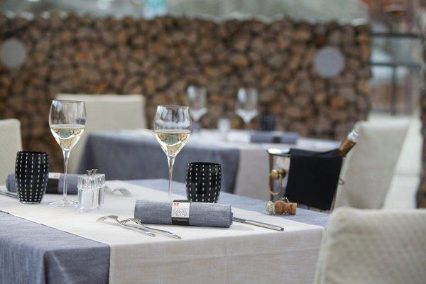 The restaurant Transacqua (Primiero) Castel Pietra