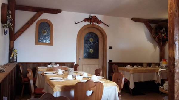 The restaurant Transacqua (Primiero) Guest house Villa Sole