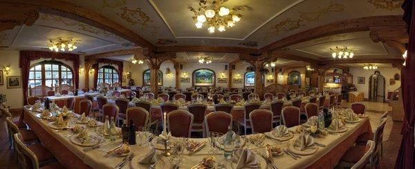 The restaurant Transacqua (Primiero) El Mondin