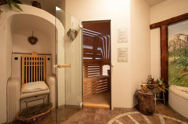 Photo of the wellness area Hotel Siror
