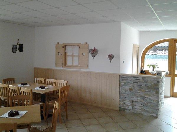 Il ristorante Mezzano (Primiero) Al Pian