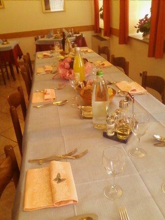 Das Restaurant Vanoi-Tal Cima d'Asta