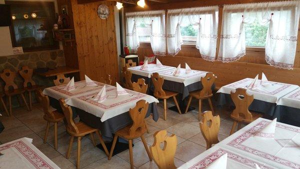 Il ristorante Valle del Vanoi Rosy