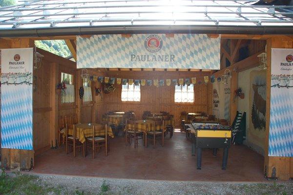 Das Restaurant Canal San Bovo (Vanoi-Tal) Al Pin