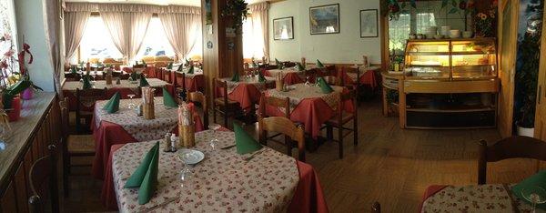 Il ristorante Canal San Bovo (Valle del Vanoi) Lagorai