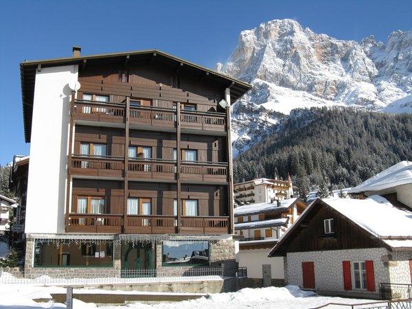 Foto invernale di presentazione Appartamenti Casa Bel Sito