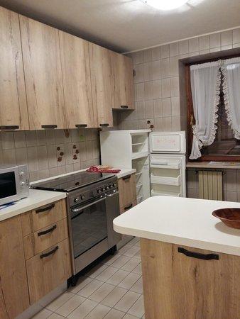 Foto della cucina Casa Scalet