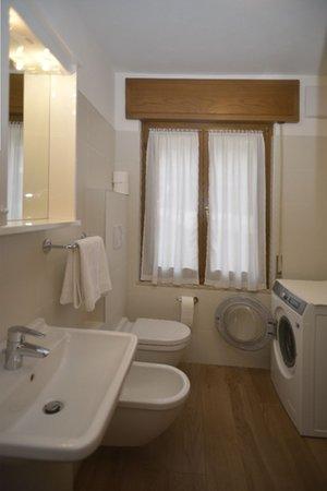 Foto del bagno Appartamenti Famiglia Gubert 18