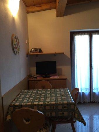 La zona giorno Appartamenti Famiglia Gubert 37