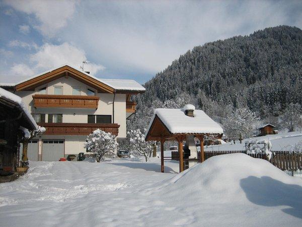Foto esterno in inverno Famiglia Trotter