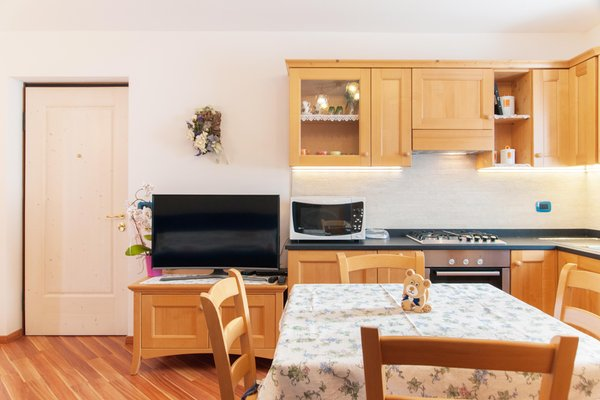 Foto della cucina Casa Bancher