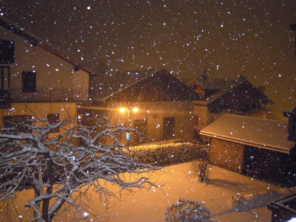 Foto Außenansicht im Winter Valeria Marcon