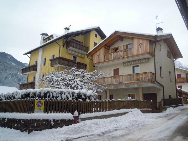 Foto invernale di presentazione Marcon Valeria - Appartamenti 2 genziane