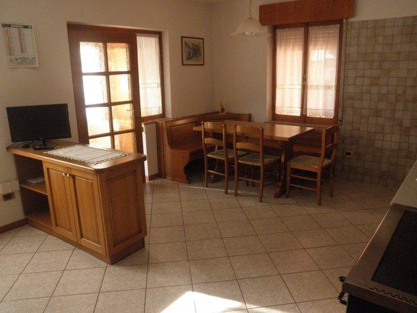 La zona giorno Appartamenti Simon Giacomo