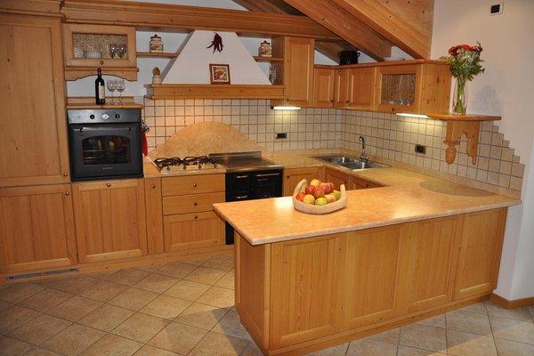 Foto der Küche Casa Zugliani