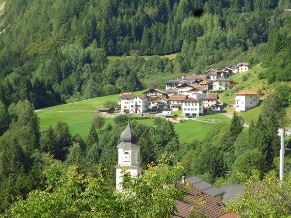 La posizione Appartamento Stefani Gabriella Valle del Vanoi