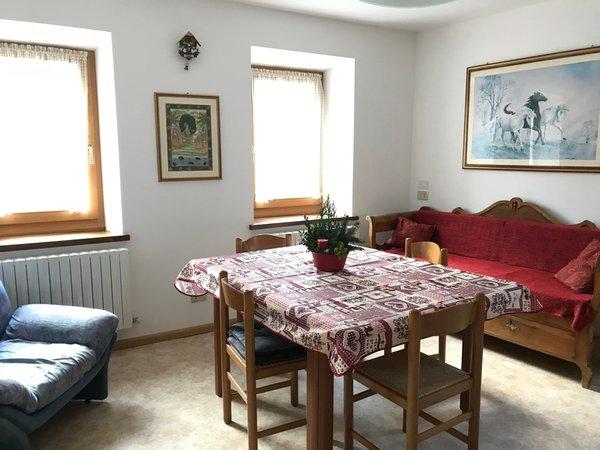 La zona giorno Appartamento Stefani Gabriella