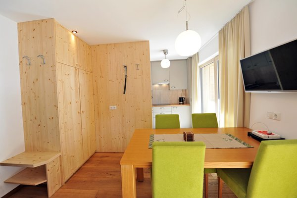 La zona giorno Appartamenti Cesa Leni