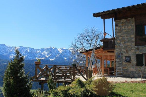 Foto estiva di presentazione Baita Zeni Tiroler Hof