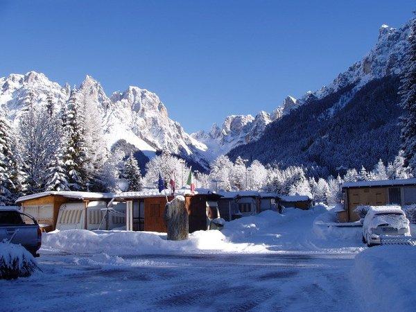 Foto invernale di presentazione Castelpietra - Campeggio