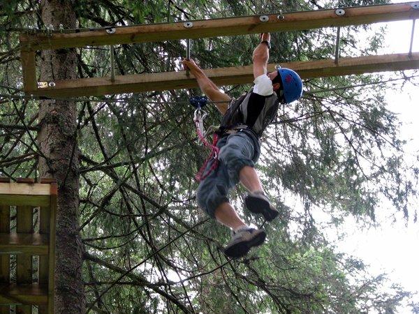 Präsentationsbild Abenteuerpark Agility Forest