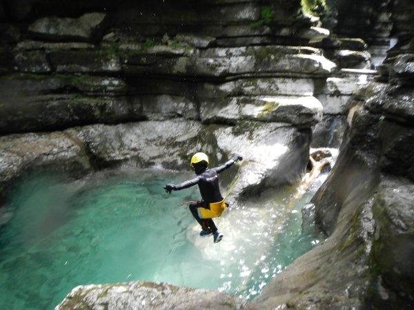 Foto estiva di presentazione Scuola di alpinismo Aquile di San Martino
