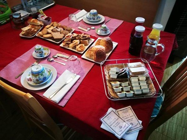 Das Frühstück Bed & Breakfast MinaVill