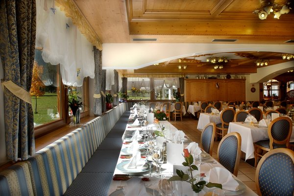 Il ristorante Falcade Cristal