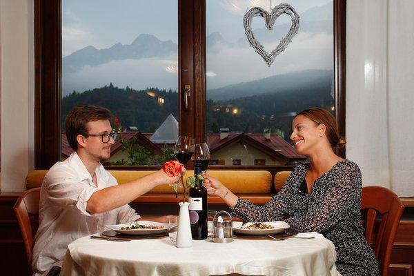 Il ristorante Andalo Cavallino Lovely Hotel