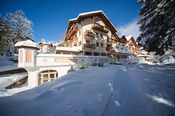 Foto invernale di presentazione Park Hotel Sport - Hotel 4 stelle
