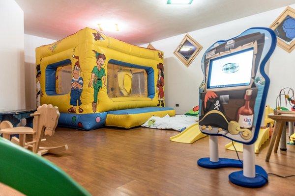 La sala giochi Park Hotel Sport